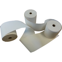 Thermorol blanco 80 x 80 x 12mm Phenol vrij (doos a 30 rollen)