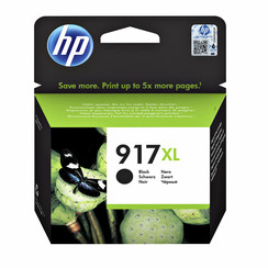 HP inktcartridge 917XL zwart high capacity