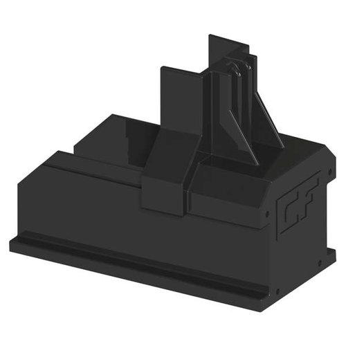 ClickFit ClickFit Evo - Montagerail Eindkap zwart