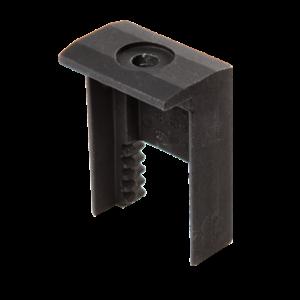 ClickFit FlatFix eindklem 30mm zwart