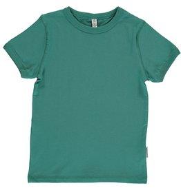 Maxomorra T-shirt Met Korte Mouwen Soft Petrol (MAAT 86/92)