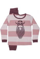 Danefae Pyjama Godnat Set Viking Freja Aubergine - LAATSTE STUK 7Y