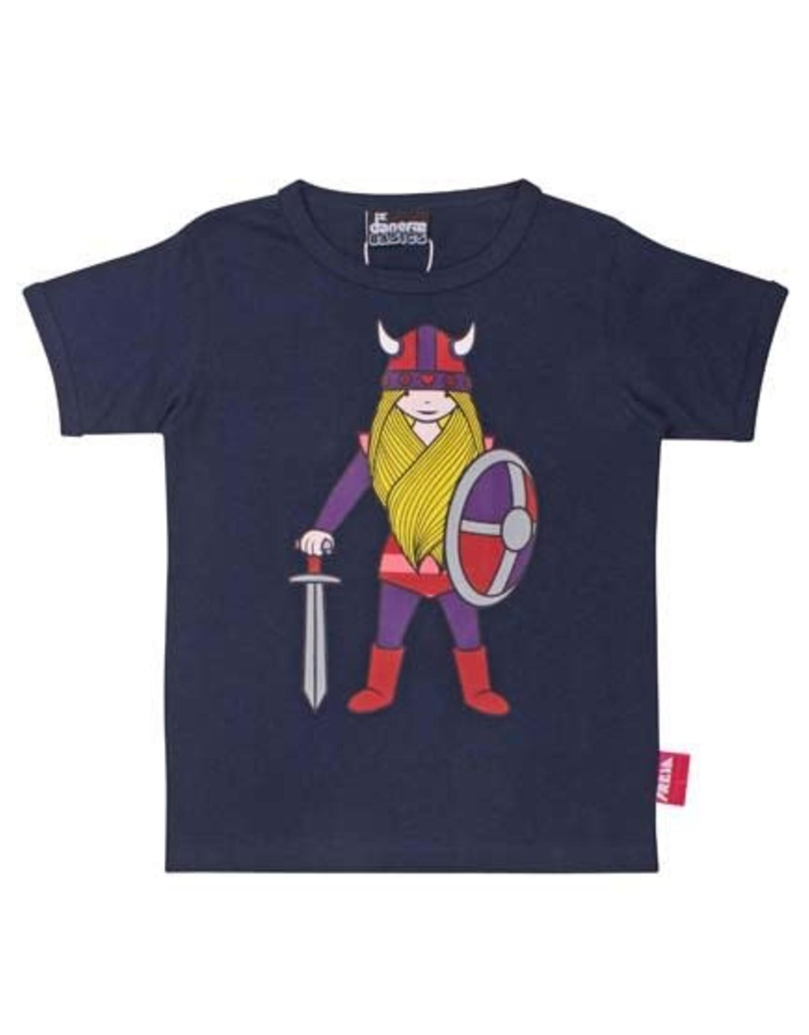 Danefae Danefae Donkerblauwe Freja T-shirt