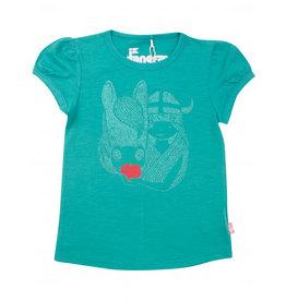 Danefae Groene Freja T-shirt Met Paard
