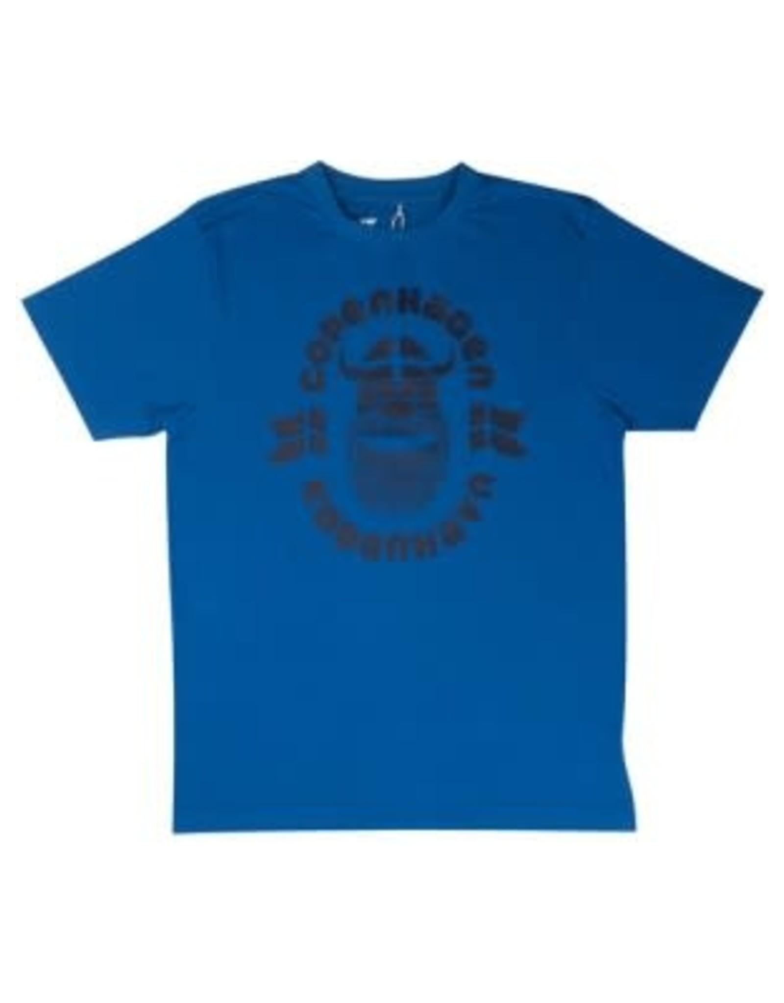 Danefae VOLWASSENEN Danefae T-shirt Blauw Kopenhagen