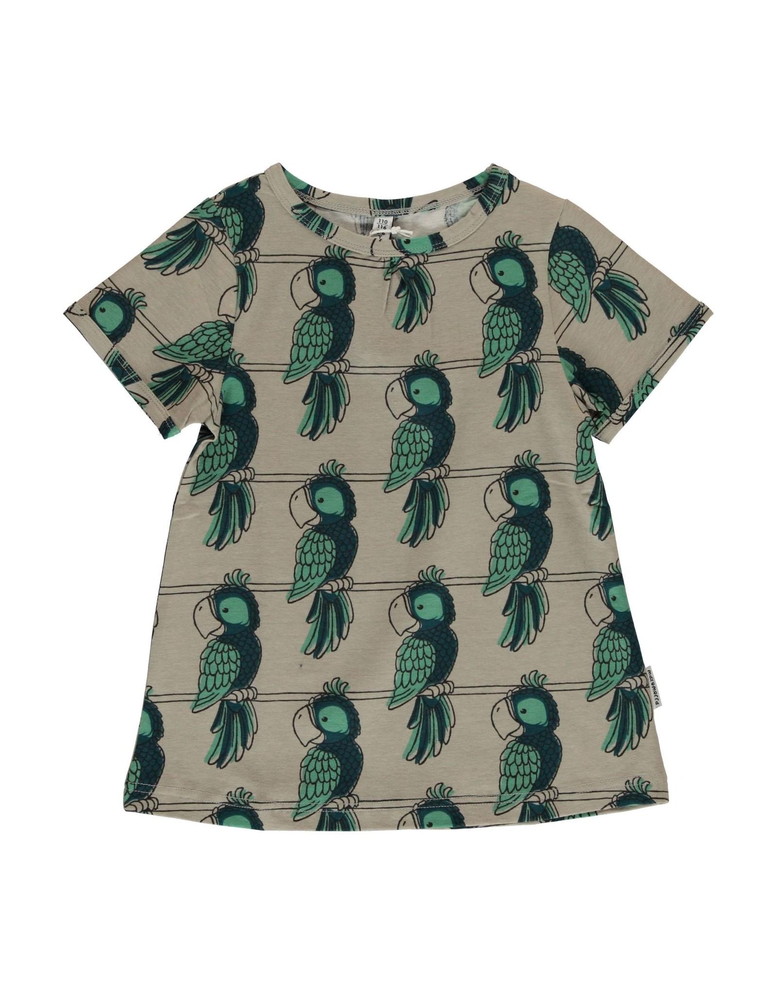 Maxomorra Papegaai T-shirt A-model