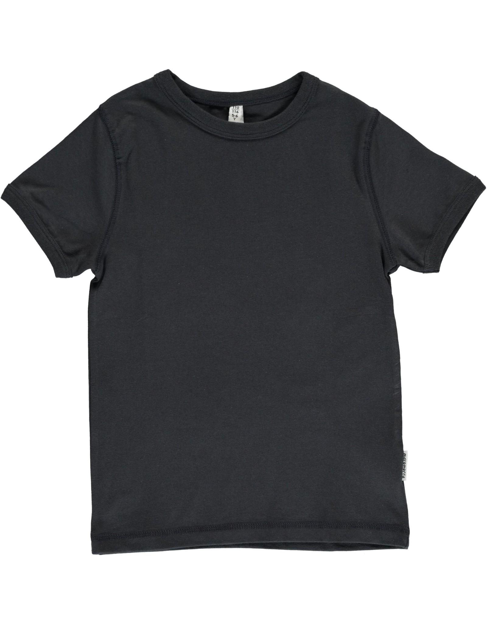 Maxomorra T-shirt Met Korte Mouwen Zwart (MAAT 110/116)