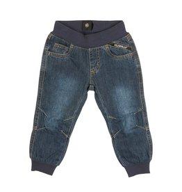 Villervalla Relax Jogging Jeans Met Rekkers Donkerblauw