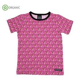 Villervalla T-shirt Met Flamingo Print