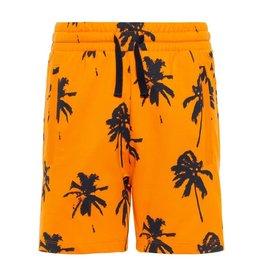 Name It Name It Jongens Oranje Short Met Palmbomen