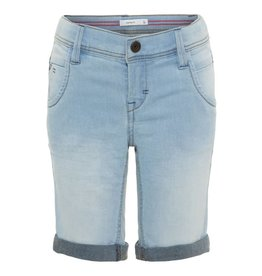 Name It Name It Jongens Short Jeans Lichtblauw