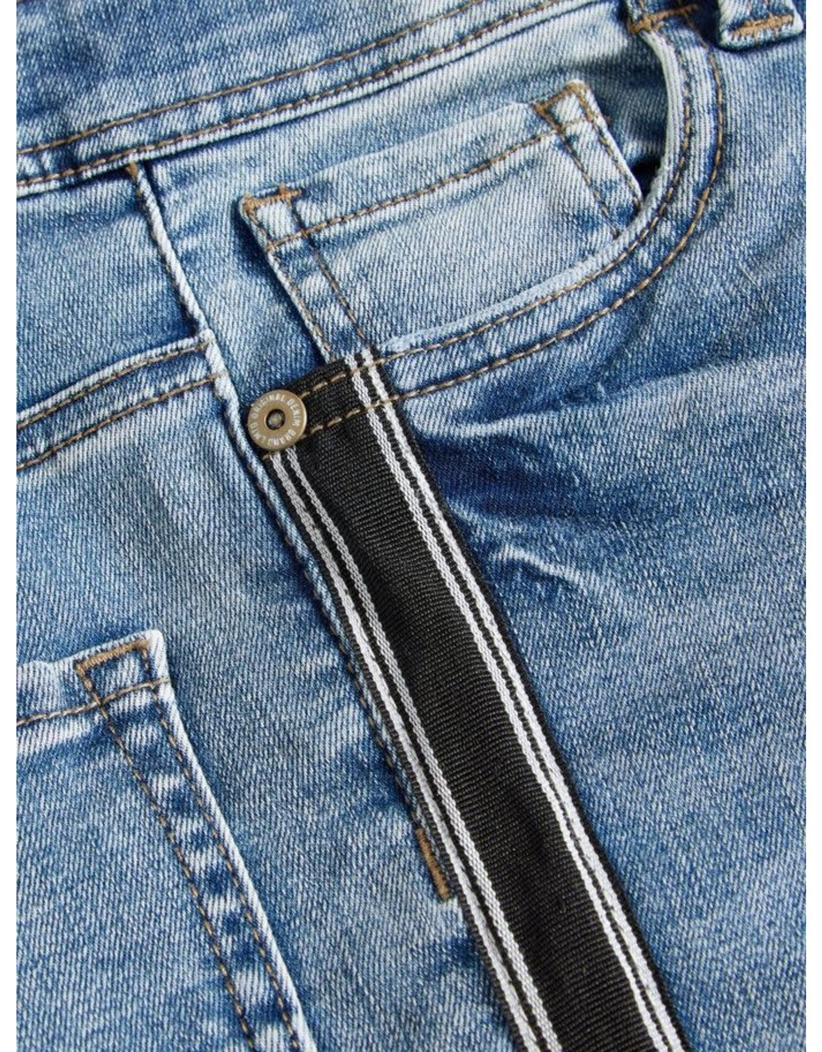 Name It Name It LMTD Skinny Jeans Jongens Met Zijstreep