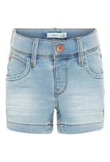 Name It Name It Meisjes Short Jeans Licht Blauw