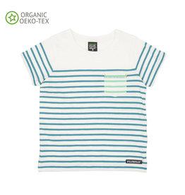 Villervalla T-shirt Met Korte Mouwen Gestreept Lake (MAAT 104)