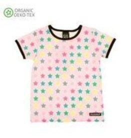 Villervalla T-shirt Met Korte Mouwen Star Rose