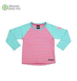 Villervalla Villervalla T-shirt Met Lange Mouwen Flamingo/Wave