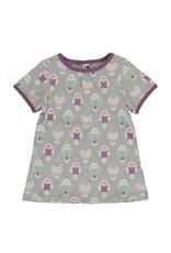 Maxomorra A-Model T-shirt Met Vogeltjes