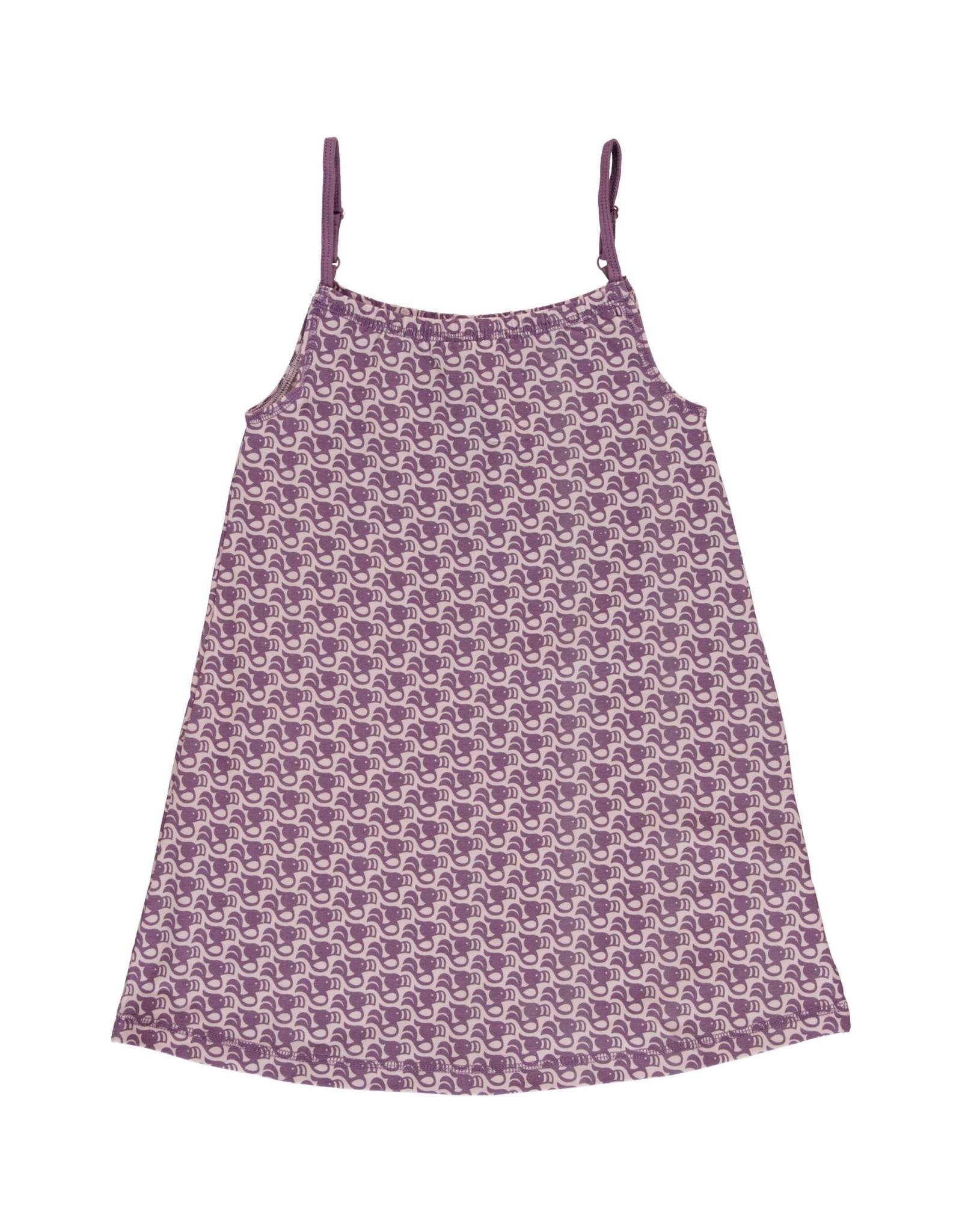 Maxomorra Spaghetti kleedje Met Toekan Print (MAAT 86/92)