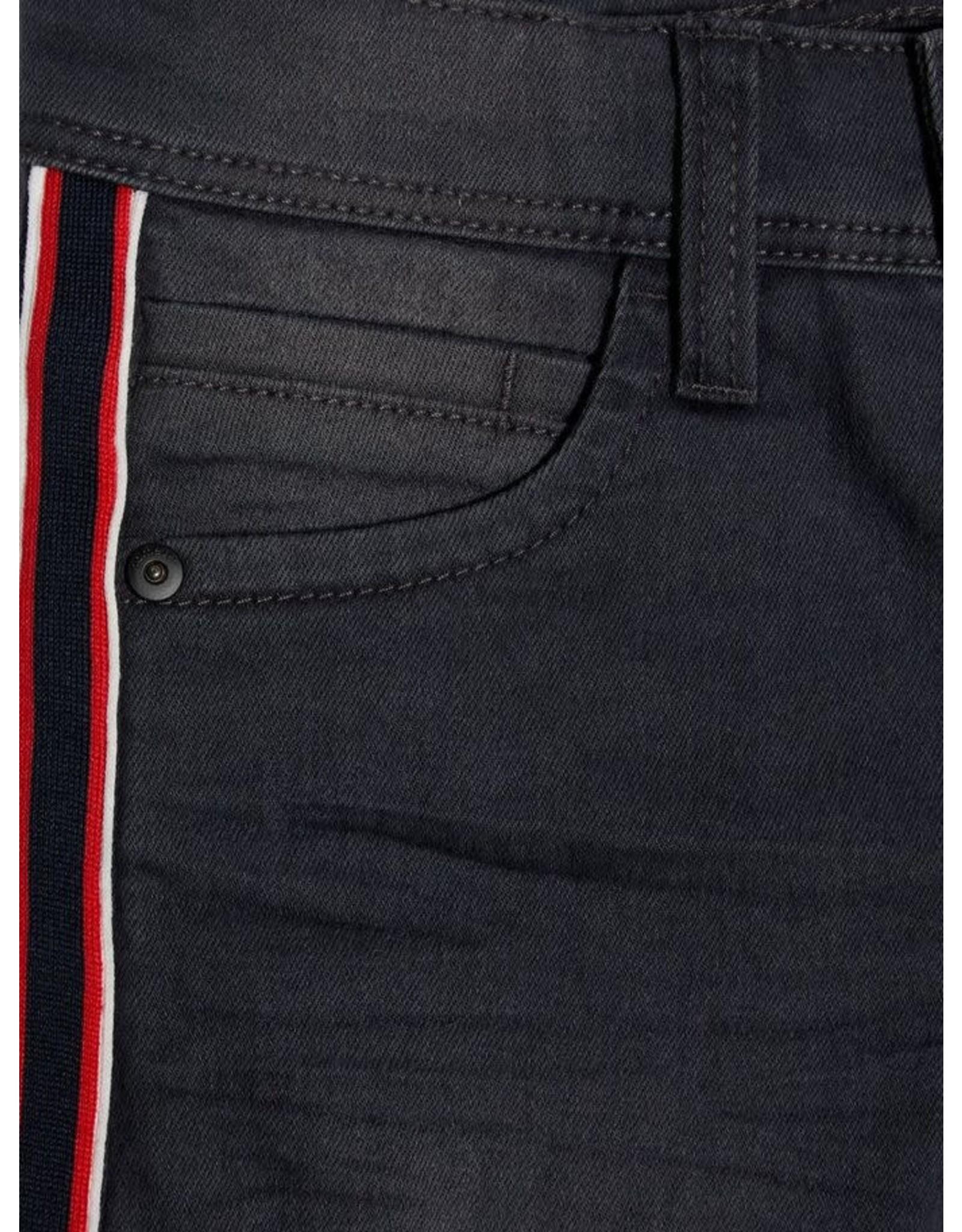 Name It Name It Grijze Jeans X-Slim Fit Met Zijstreep