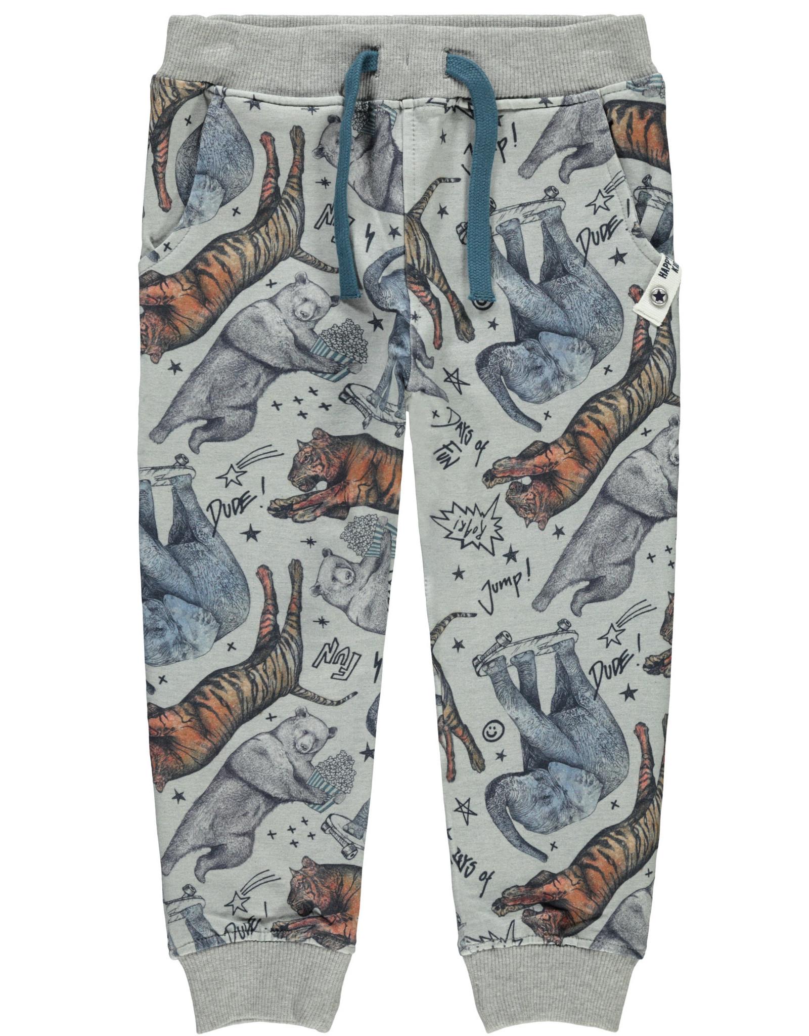 Name It Jogging broek met circus dieren print - LAATSTE MAAT 92