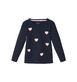 Name It Hartjes T-shirt Met Lange Mouwen (2 kleuren)