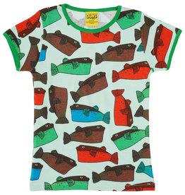 Duns T-shirt met vissen (2 kleuren)