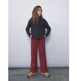 Name It Brede bordeaux kleurige corduroy broek