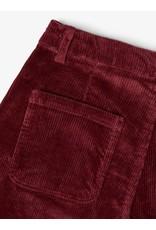 Name It Brede bordeaux kleurige corduroy broek