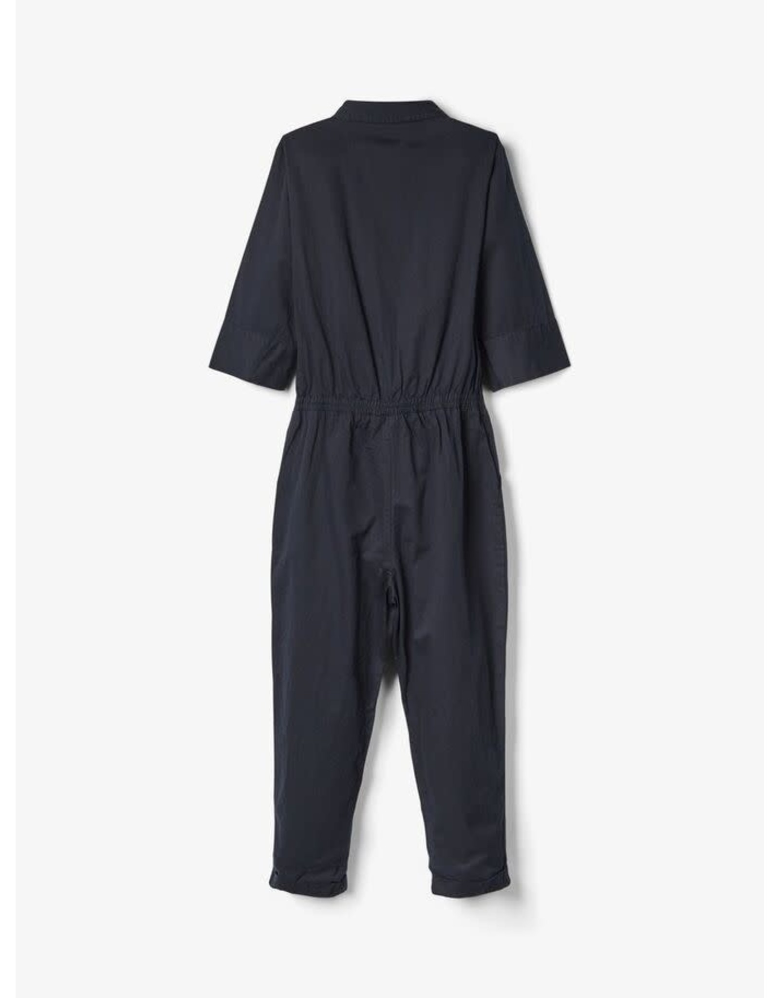 Name It Zwarte katoenen jumpsuit