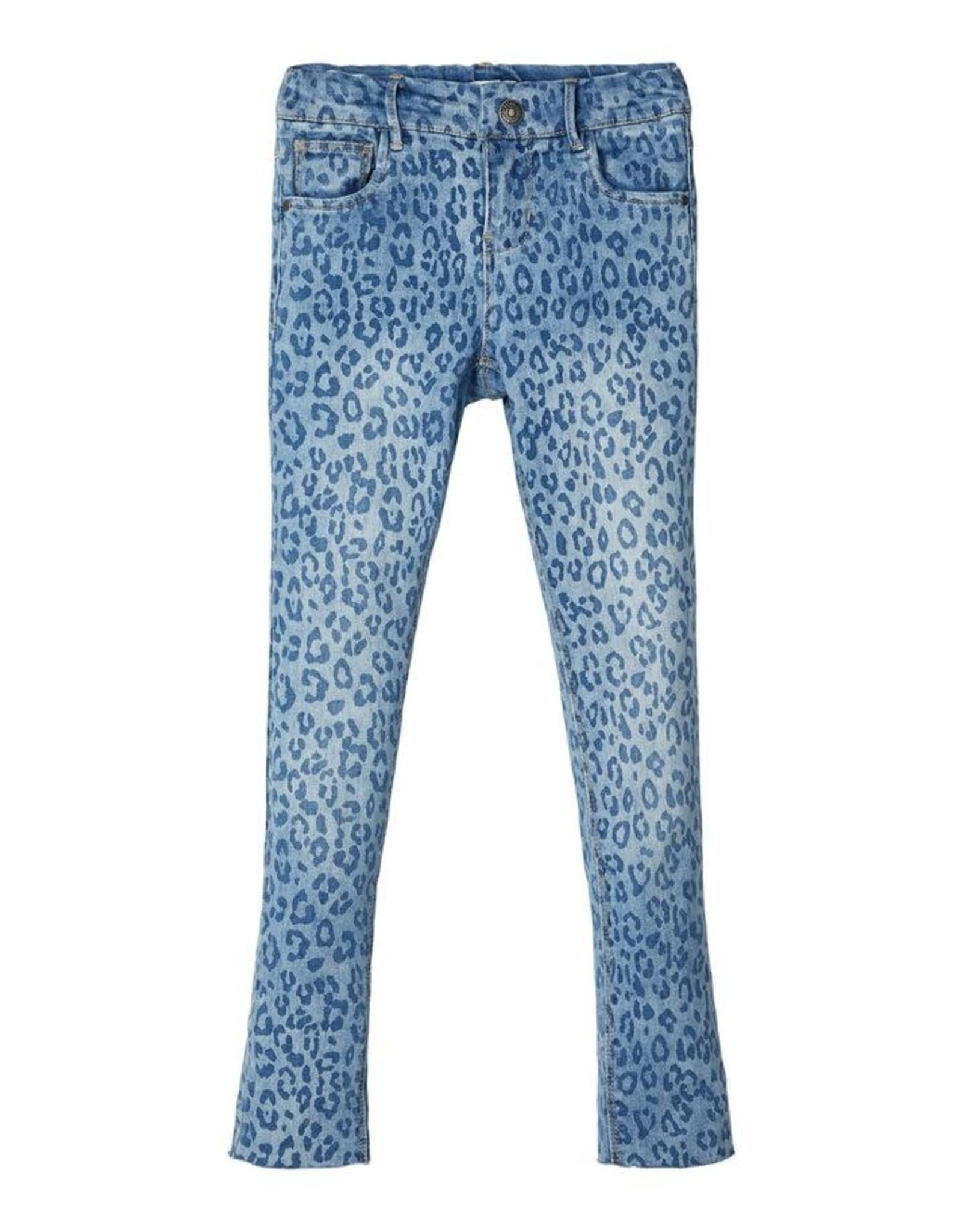 Name It Name It Skinny Fit Panterprint Jeans