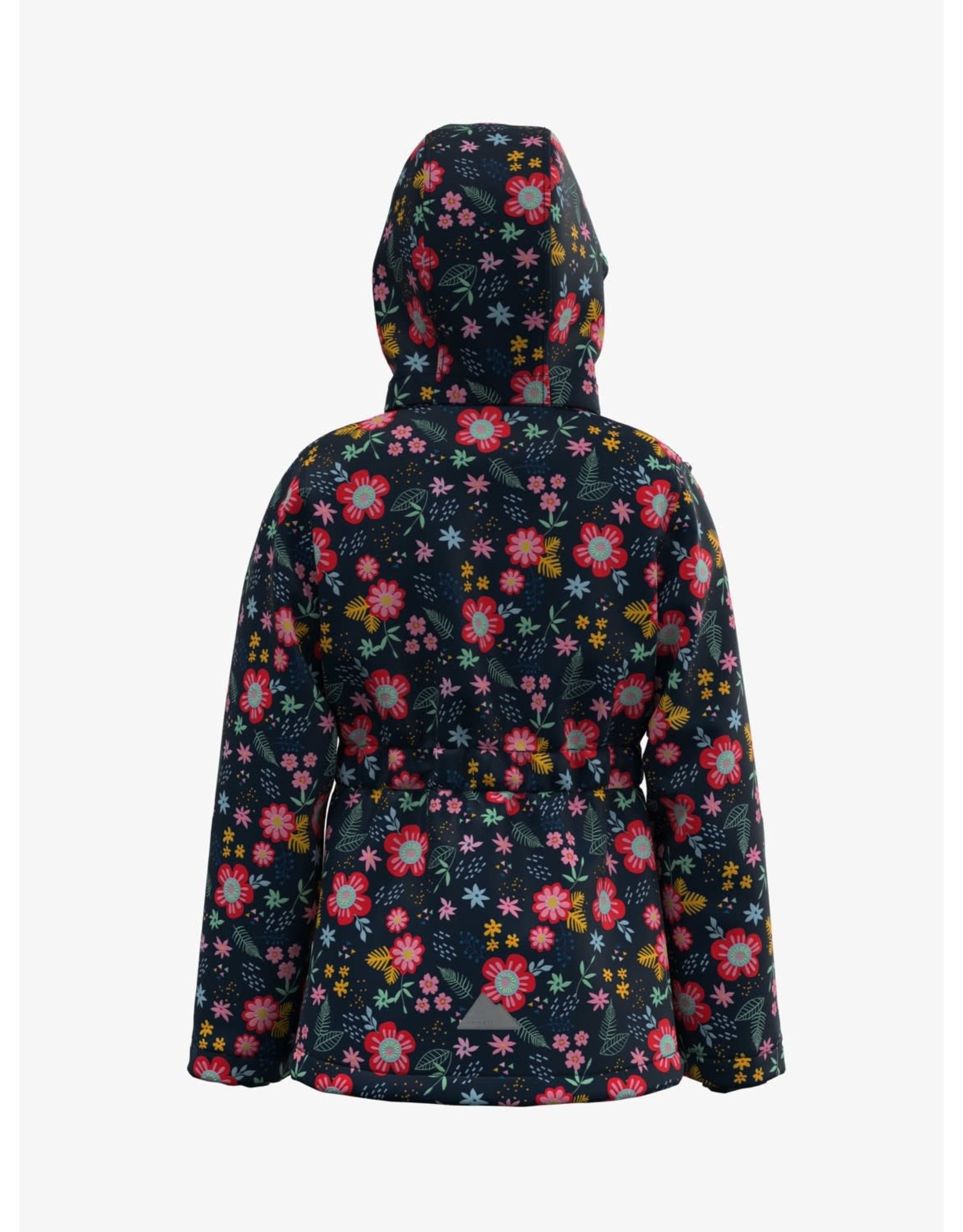 Name It Tussenseizoen jas meisjes met bloemen patroon