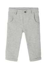 Name It Grijze broek in jogging broek stof van Name It