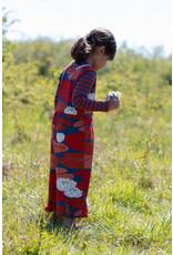 Danefae Losse jumpsuit van Danefae met lelie print