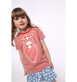 Danefae Gestreepte t-shirt met meisjes viking Freja