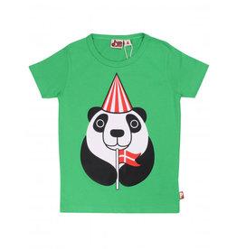Dyr T-shirt met Deense feestende panda