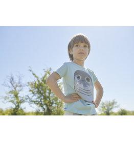 Dyr Lichtblauwe t-shirt met zeehond