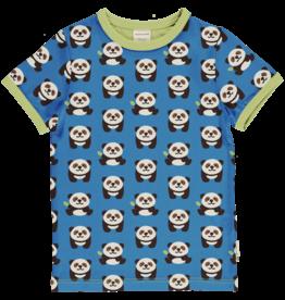 Maxomorra T-shirt met panda's