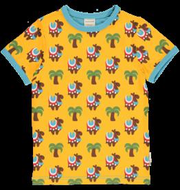 Maxomorra T-shirt met kamelen en palmbomen