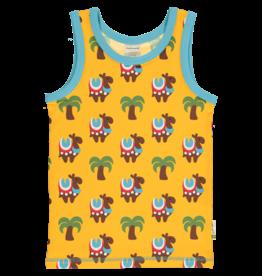Maxomorra T-shirt zonder mouwen met kamelen - LAATSTE MAAT 86/92