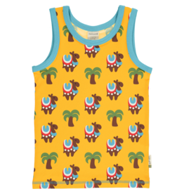 Maxomorra T-shirt zonder mouwen met kamelen
