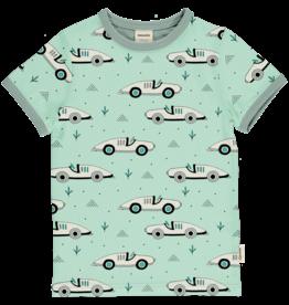 Meyadey T-shirt met retro auto's