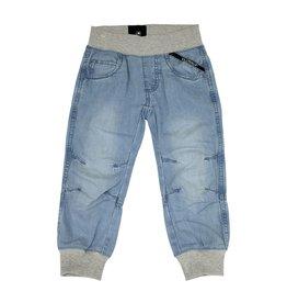 Villervalla Lichtblauwe zachte jeans zonder knop