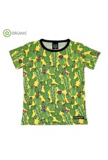 Villervalla Villervalla t-shirt met cactussen print