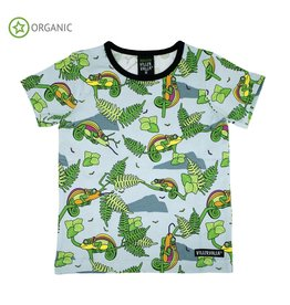 Villervalla T-shirt met kameleons