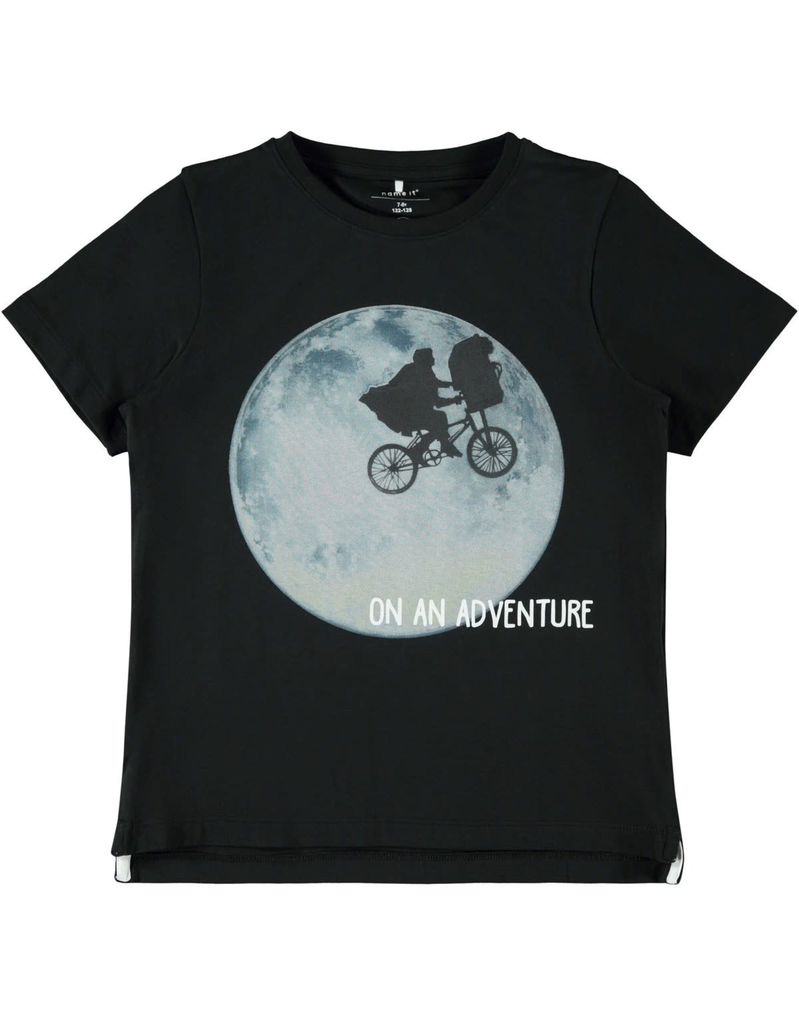 Name It Zwarte OF grijze E.T. t-shirt van Name It