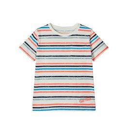 Name It Felle streepjes t-shirt (2 kleuren) - LAATSTE MAAT 116