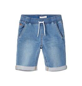 Name It Losse zachte jeansshort Medium Blue