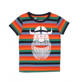 Danefae Viking Erik t-shirt met vrolijke kleurtjes