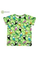 Villervalla Groene t-shirt met toekans van Villervalla