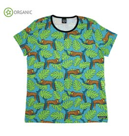 Villervalla T-shirt met luipaarden